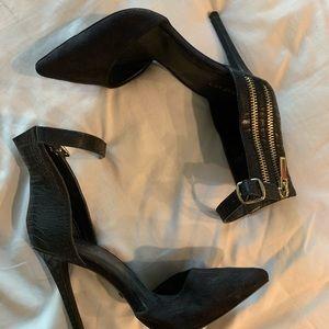 Bebe black heels